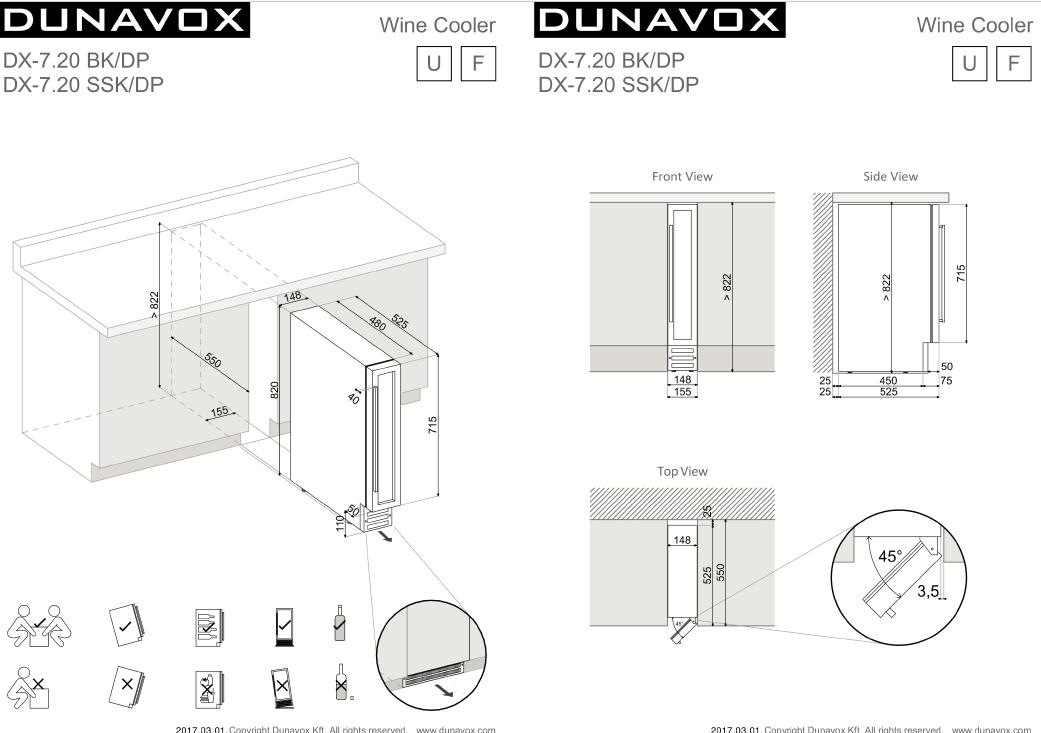 09a01a644d7 Dunavox DX7.20SSK/DP, Kodumasinad, Külmikud, sügavkülmikud, Veinikülmikud,  Omega.ee - Omega.ee - Omega
