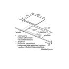 Bosch PKE645B17E, Integreeritav kodutehnika, Integreeritavad pliidiplaadid, Keraamilised pliidiplaadid